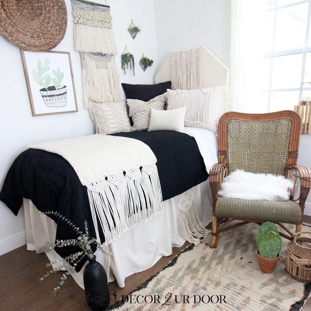 Macrame Dorm Bedding