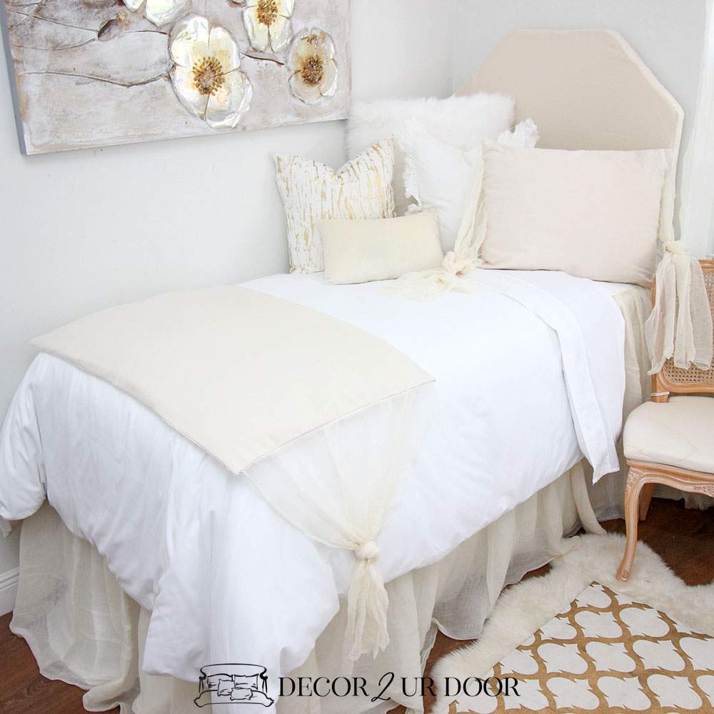 Cheesecloth Dorm Bedding